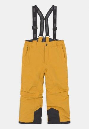 POWAI UNISEX - Zimní kalhoty - yellow