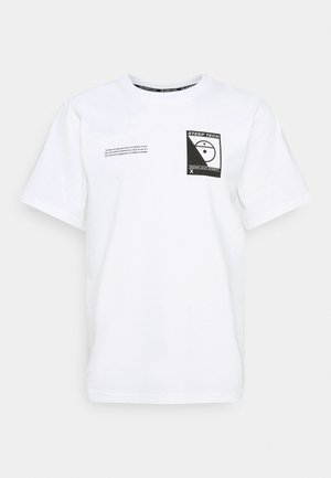 STEEP TECH LOGO TEE UNISEX  - T-shirts print - white