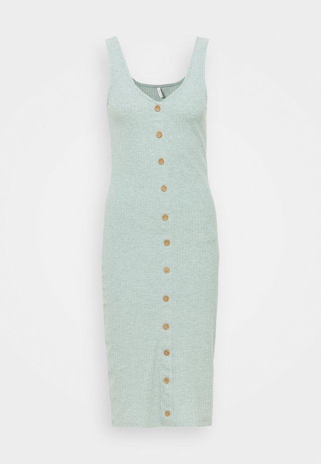 ONLNELLA BODYCON DRESS - Korte jurk - chinois green