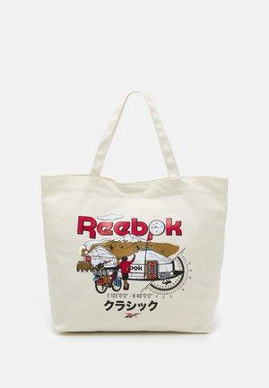 ROADTRIP UNISEX - Shopping bag - off-white