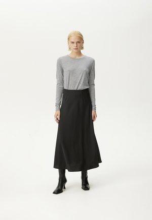 SIVIDAGZ NOOS - Long sleeved top - grey melange
