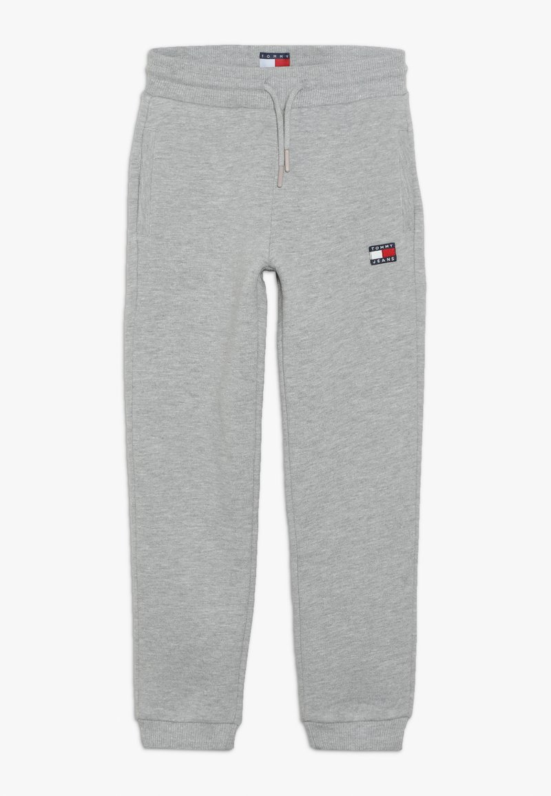 Tommy Hilfiger - UNISEX FLAG  - Trainingsbroek - light grey heather