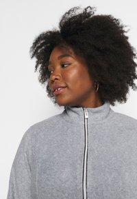 CAPSULE by Simply Be - Fleece jacket - grey marl - 3