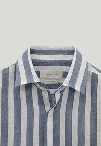 Massimo Dutti - Shirt - blue-black denim - 4