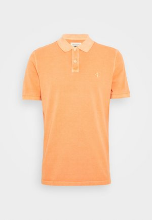 SHORT SLEEVE BUTTON PLACKET - Piké - orange