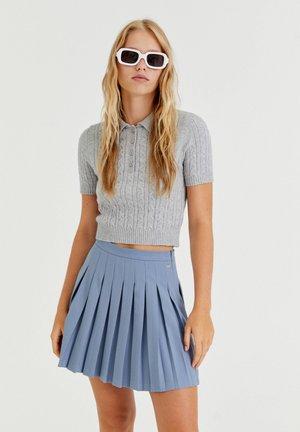 Áčková sukně - blue grey