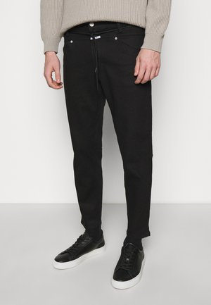 XLENT TAPERED - Jeans Tapered Fit - black