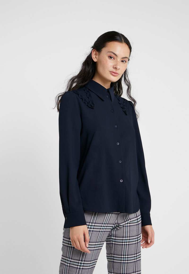 See by Chloé - Button-down blouse - ink navy