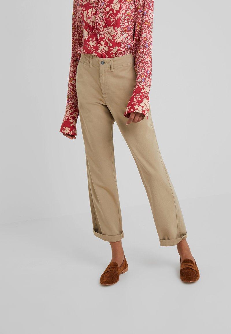 Polo Ralph Lauren - MONTAUK - Pantalon classique - surrey tan