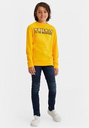 MET TEKSTOPDRUK - Camiseta de manga larga - yellow