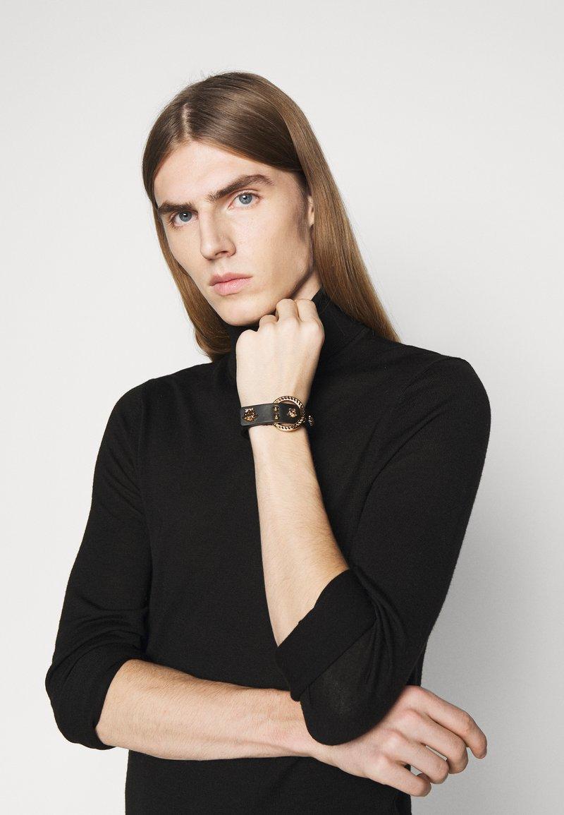 Versace - BRACCIALE UNISEX - Bracelet - nero/oro
