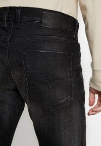 Diesel - TEPPHAR-X - Slim fit jeans - black denim - 3