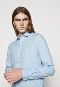 120% Lino - SLIM FIT - Shirt - celeste - 3