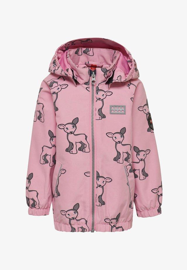 LWJENNI - Waterproof jacket - rose