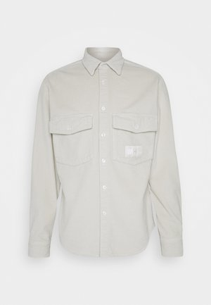 LEWIS HAMILTON UNISEX CHUNKY CORDUROY SHIRT - Koszula - light silt