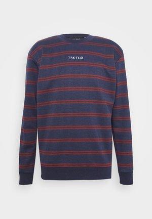 DISTRICT CREW - Sweatshirt - blue
