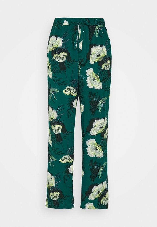 PANT LOTUS BIRD - Spodnie od piżamy - storm