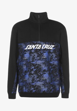Sweatshirt - black/splatter