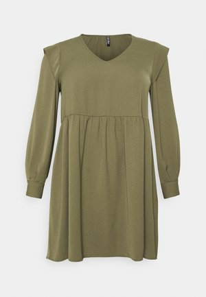 PCDORTHY DRESS - Day dress - martini olive