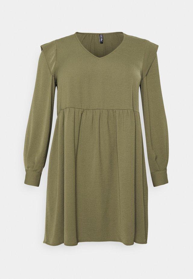 PCDORTHY DRESS - Day dress - martini olive