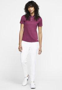 Nike Golf - DRY VICTORY - Sports shirt - villain red/white - 1