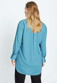 Violeta by Mango - LAURITA - Button-down blouse - petrolejová modrá - 2