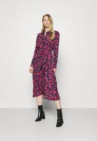 Guess - SELVAGGIA DRESS - Košilové šaty - multi-coloured - 1