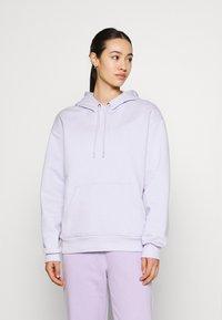 Monki - Hoodie - lilac purple dusty light solid - 0
