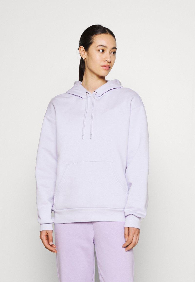 Monki - Hoodie - lilac purple dusty light solid