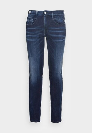 ANBASS SHADES - Slim fit jeans - dark-blue denim