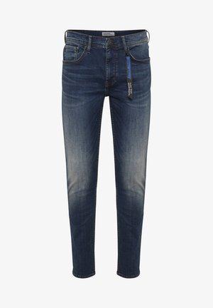 NOOS - Slim fit jeans - denim dark blue