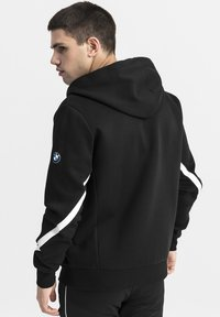 Puma - BMW M MOTORSPORT  - Zip-up hoodie - black - 2