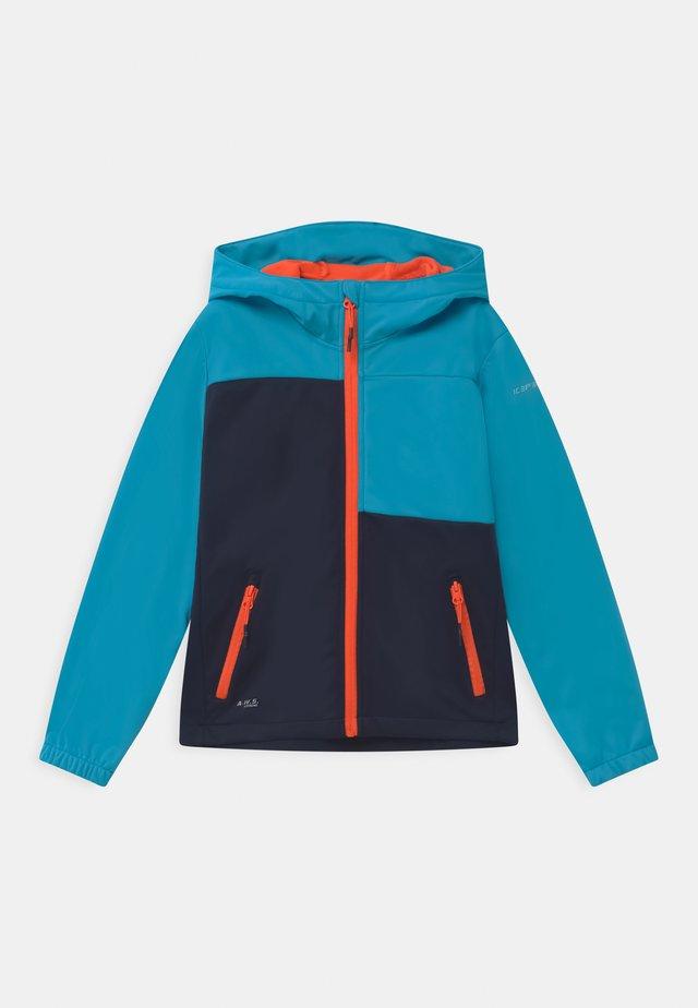 KARS UNISEX - Soft shell jacket - dark blue