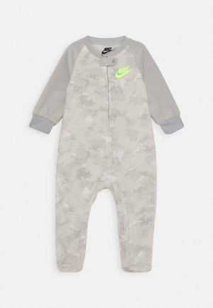 CRAYON CAMO FOOTED COVERALL - Pijama - light smoke grey