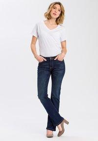 Cross Jeans - LAUREN - Bootcut jeans - deep blue - 1