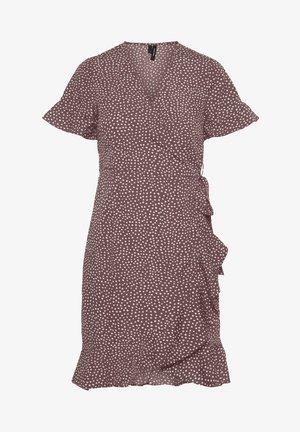 Sukienka letnia - rose brown