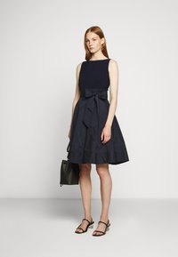 Lauren Ralph Lauren - MEMORY DRESS COMBO - Cocktail dress / Party dress - lighthouse navy - 1