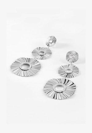 PLISSE - Earrings - silber