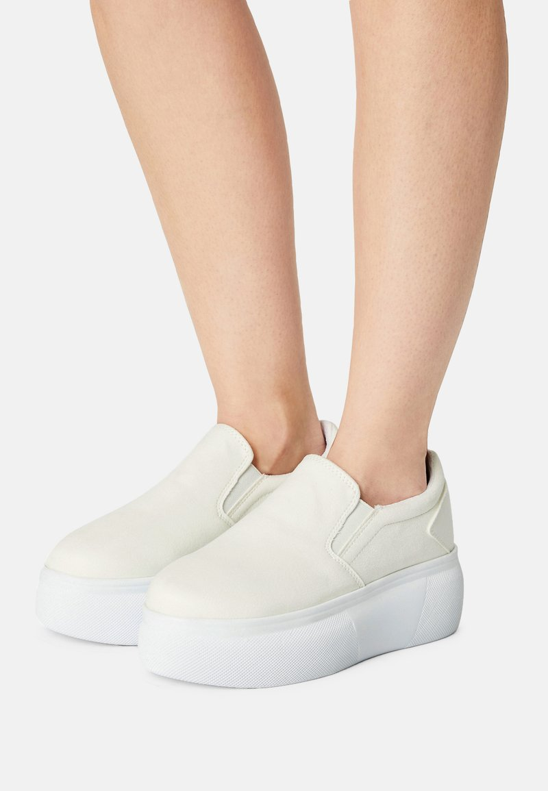 Nly by Nelly - PLATFORM - Zapatillas - white
