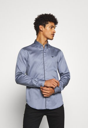 CAMICIA TESSUTO - Shirt - acciaio