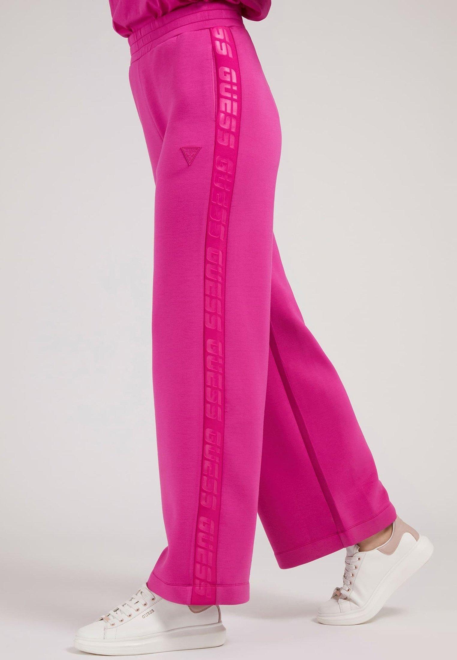 Femme HOSE SCUBA LOGOSTREIFEN - Pantalon classique