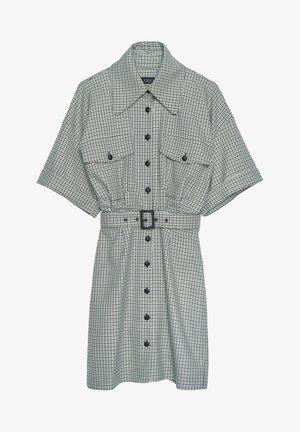 Košilové šaty - dark grey