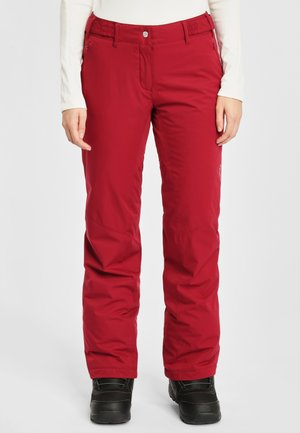 Snow pants - bordeaux