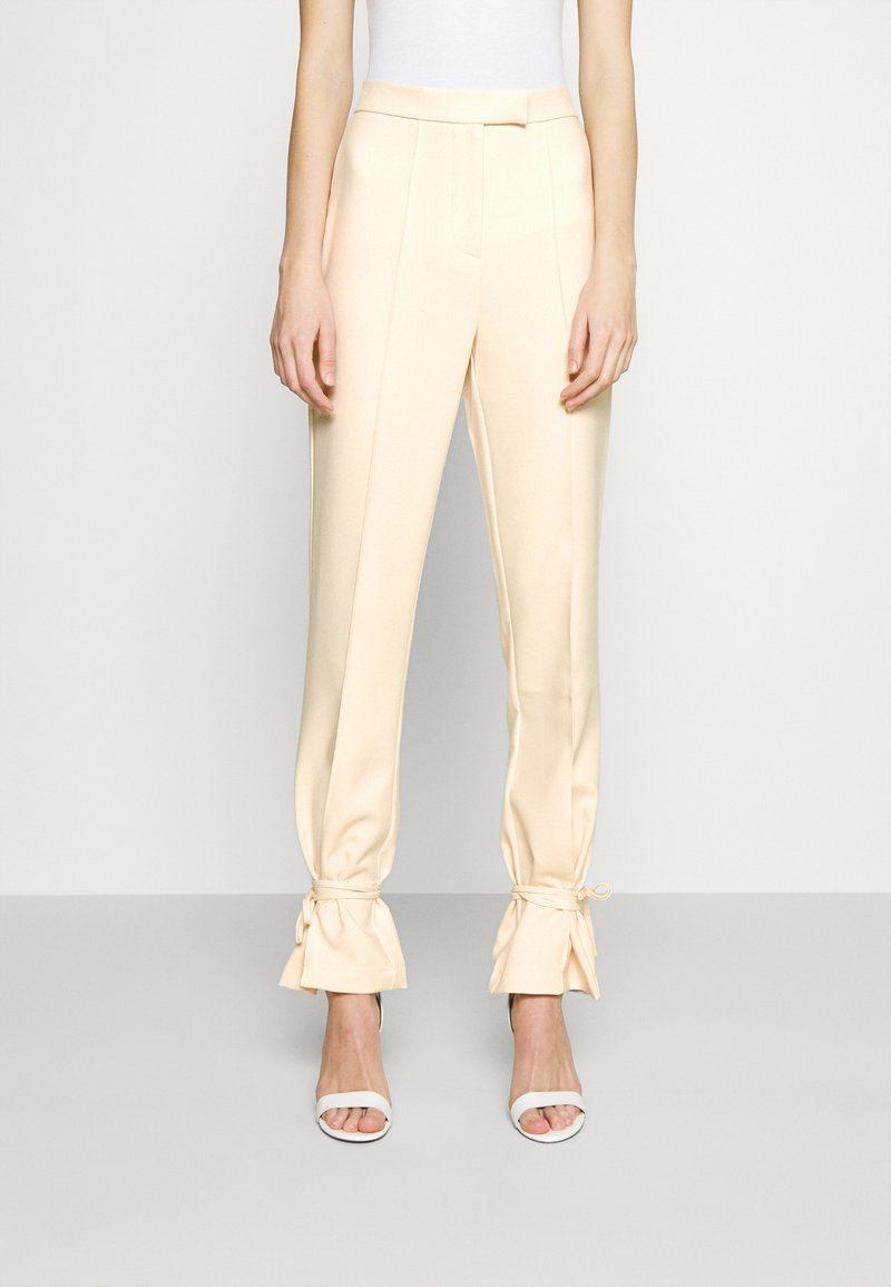4th & Reckless - ALMA TROUSER - Kalhoty - nude