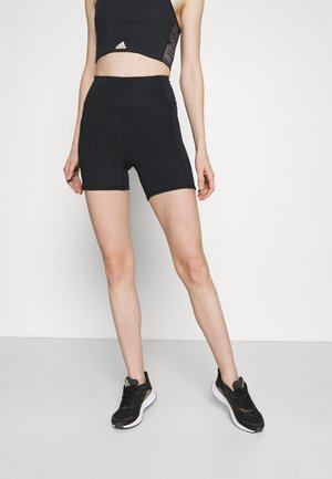 LIFESTYLE POCKET BIKE SHORT - Leggings - black