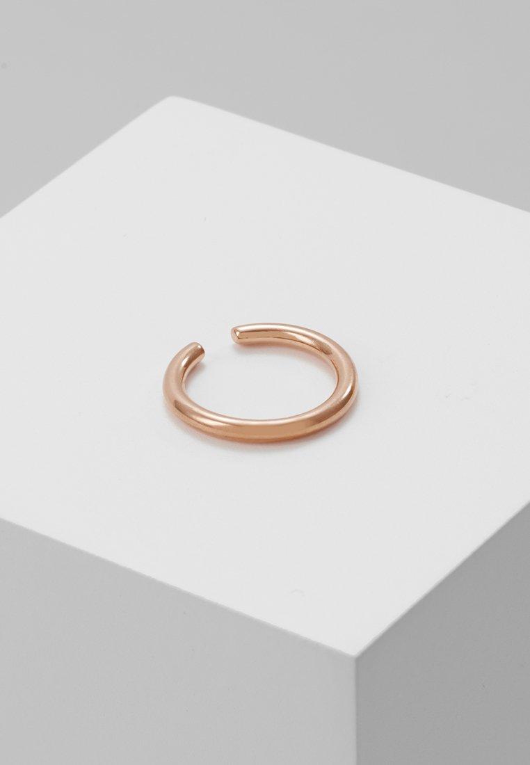 Astrid & Miyu - BASIC EAR CUFF - Earrings - rose gold-coloured