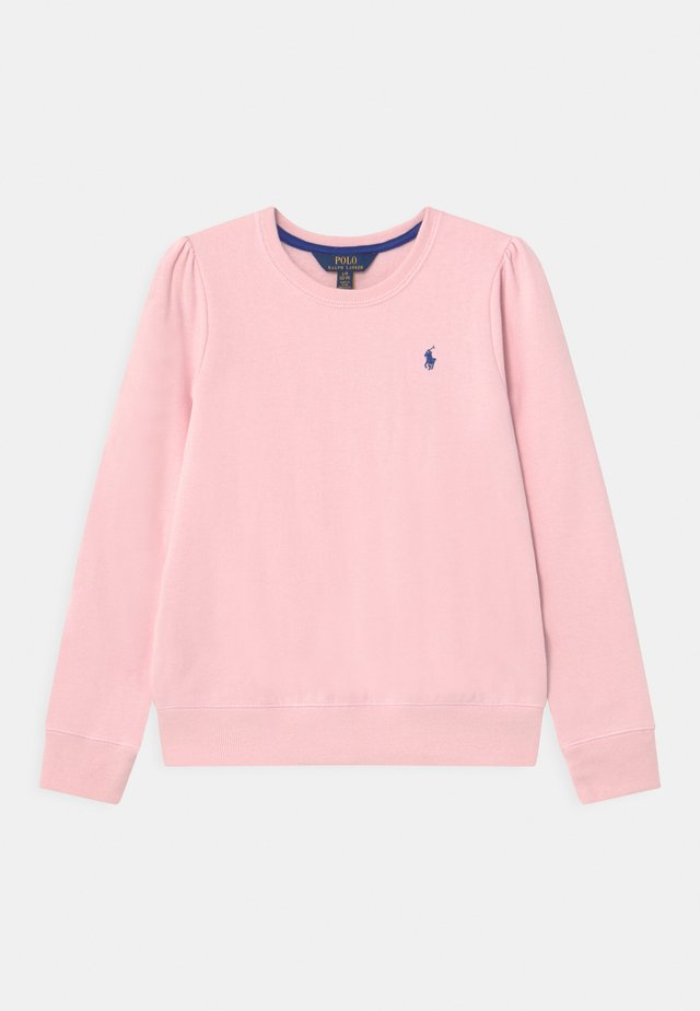 Sweatshirt - hint of pink