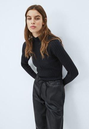 FIONA - Sweter - black