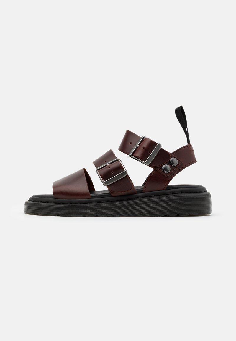 Dr. Martens - GRYPHON - Sandals - charro brando