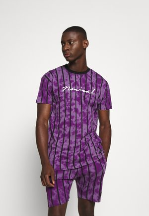 ALBA TEE - Print T-shirt - purple